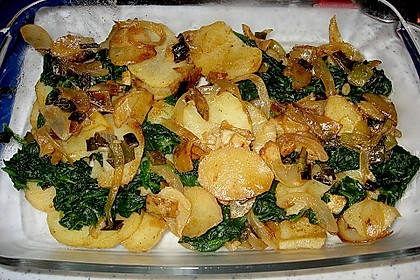Kartoffel - Spinat - Auflauf 14