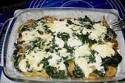 Kartoffel - Spinat - Auflauf 10