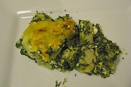 Kartoffel - Spinat - Auflauf 17