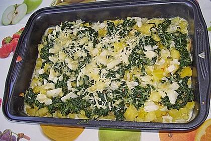 Kartoffel - Spinat - Auflauf 25