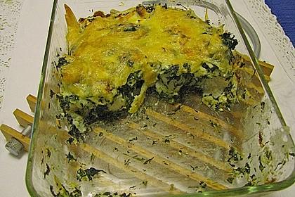 Kartoffel - Spinat - Auflauf 21
