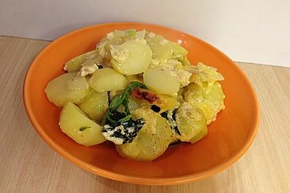 Kartoffel - Spinat - Auflauf 20