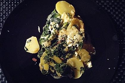 Kartoffel - Spinat - Auflauf 13