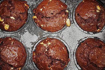 Schoko - Jumbo - Muffins 32