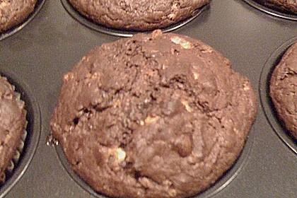 Schoko - Jumbo - Muffins 78