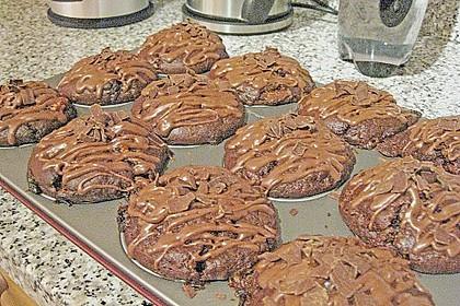 Schoko - Jumbo - Muffins 75