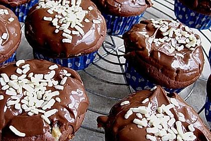 Schoko - Jumbo - Muffins 24
