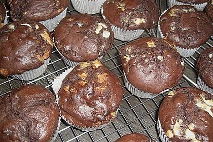 Schoko - Jumbo - Muffins 72
