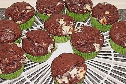 Schoko - Jumbo - Muffins 50