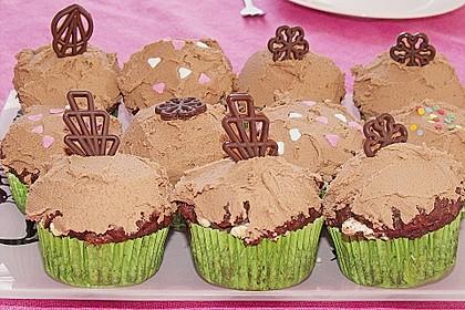 Schoko - Jumbo - Muffins 16