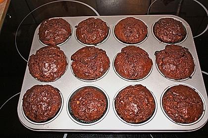 Schoko - Jumbo - Muffins 28
