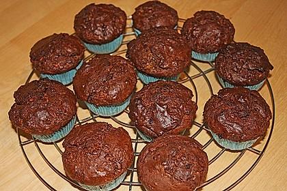 Schoko - Jumbo - Muffins 25
