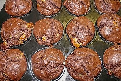 Schoko - Jumbo - Muffins 55