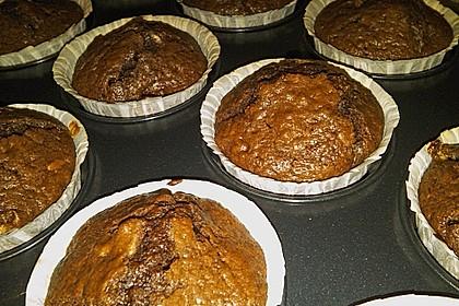 Schoko - Jumbo - Muffins 64