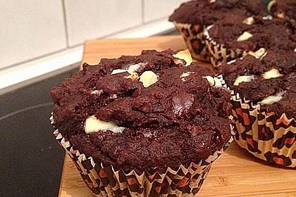 Schoko - Jumbo - Muffins 8