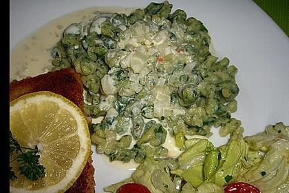 Gnocchi mit Knoblauch - Sahne - Sauce 1