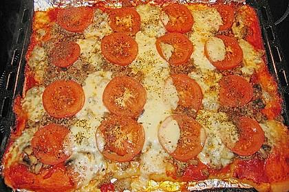 tomaten hackfleisch kuchen vom blech von annett dm. Black Bedroom Furniture Sets. Home Design Ideas