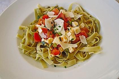 Spaghetti grün - rot 1