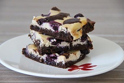 Käsekuchen Brownies 1