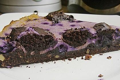 Käsekuchen Brownies 2