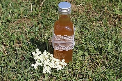 Holunderblüten - Sirup 6
