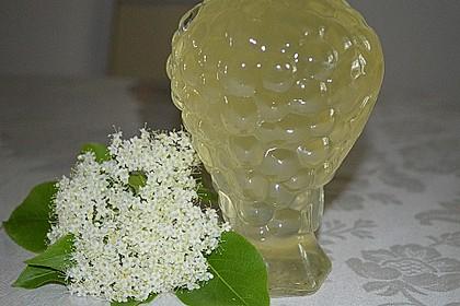 Holunderblüten - Sirup 2