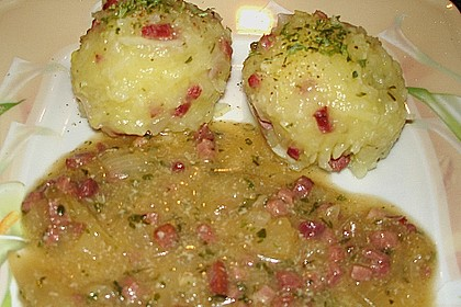Kartoffel - Speck - Knödel 1