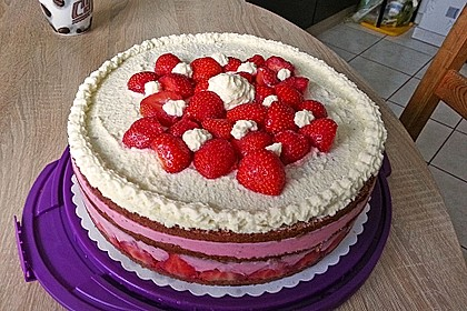 Erdbeer - Joghurt - Sahne - Torte 10
