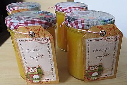 Orangen - Ingwer - Marmelade