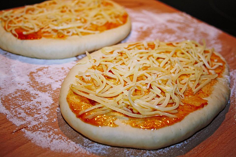 pizzateig pizzabrot rezept mit