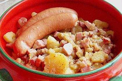 Warmer Kartoffelsalat mit Speck und Zwiebeln 1