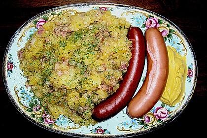 Warmer Kartoffelsalat mit Speck und Zwiebeln 2