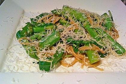 Spargel mit Limetten - Rucola - Pasta 12