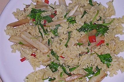 Spargel mit Limetten - Rucola - Pasta 14