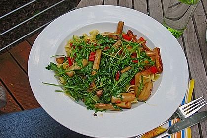 Spargel mit Limetten - Rucola - Pasta 3