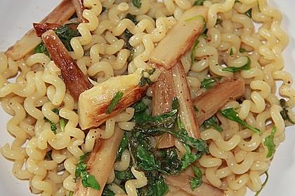 Spargel mit Limetten - Rucola - Pasta 9