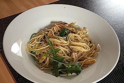 Spargel mit Limetten - Rucola - Pasta 13