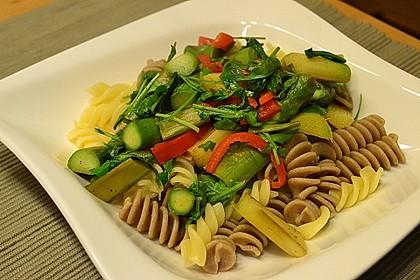 Spargel mit Limetten - Rucola - Pasta 6