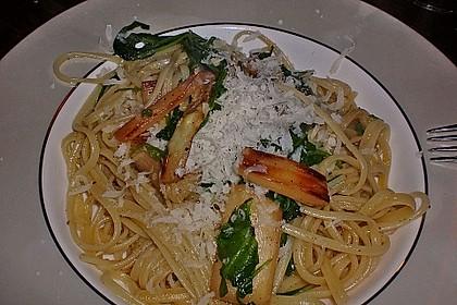 Spargel mit Limetten - Rucola - Pasta 10