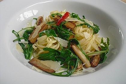 Spargel mit Limetten - Rucola - Pasta