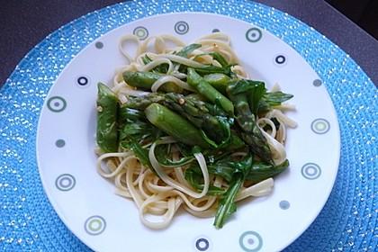 Spargel mit Limetten - Rucola - Pasta 2