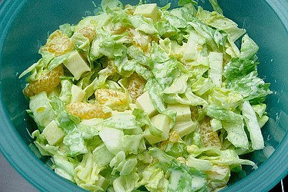 Eisbergsalat mit Curry - Dressing 6