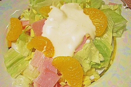 Eisbergsalat mit Curry - Dressing 4