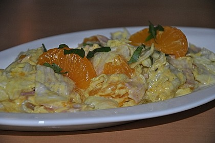 Eisbergsalat mit Curry - Dressing 5