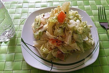 Eisbergsalat mit Curry - Dressing 1