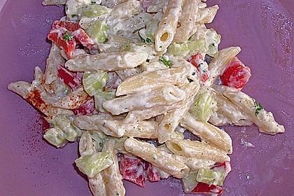 Penne - Salat mit Schafskäse 1