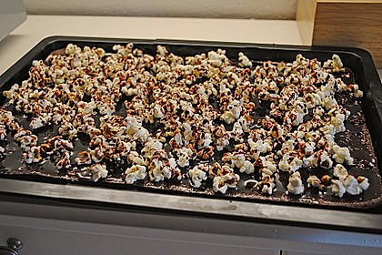 Popcorn - Cola Kuchen