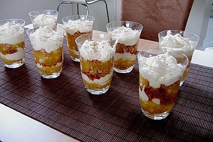Geschichtete Apfel - Marzipan - Creme 13
