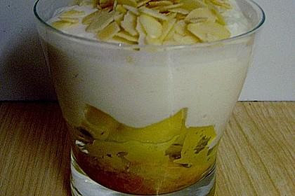 Geschichtete Apfel - Marzipan - Creme 16