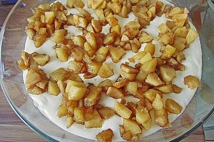 Geschichtete Apfel - Marzipan - Creme 15